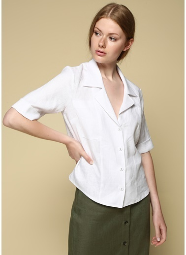 Faraway Bluz Beyaz